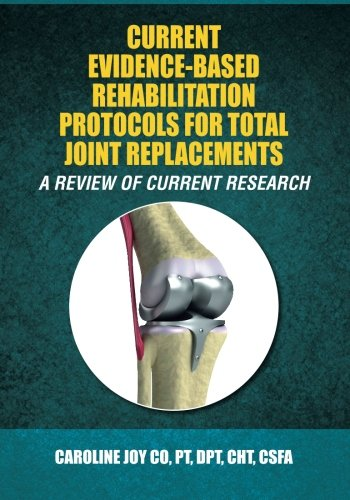 9781512142464: Current Evidence-Based Rehabilitation Protocols for Total Joint Replacements: A Review of Current Research