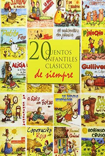 20 Cuentos Infantiles Clasicos de Siempre (Paperback): Hans Christian Andersen,