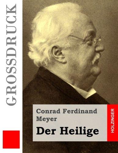 9781512153538: Der Heilige (Großdruck) (German Edition)