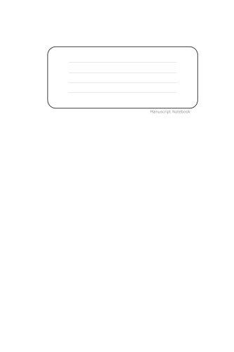 9781512154610: Manuscript Notebook: 6x9