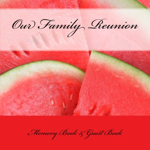 9781512161441: Our Family: Reunion Memory Book & Guest Book