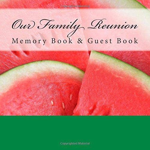 9781512161458: Our Family: Reunion Memory Book & Guest Book