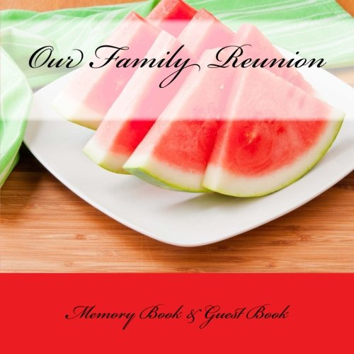 9781512161465: Our Family: Reunion Memory Book & Guest Book