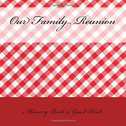 9781512161502: Our Family Reunion: Memory Book & Guest Book