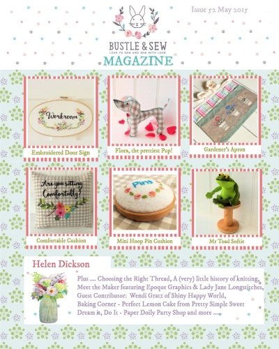 9781512167504: Bustle & Sew Magazine Issue 52: May 2015