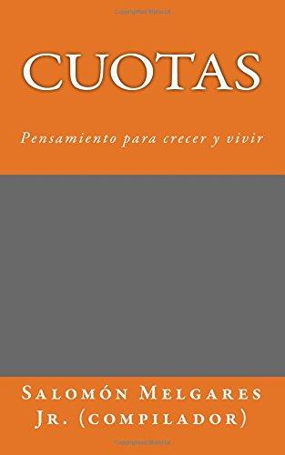 9781512167832: Cuotas: Pensamiento para crecer y vivir (Spanish Edition)