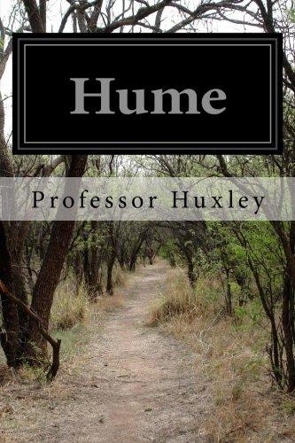 Hume: Huxley, Professor