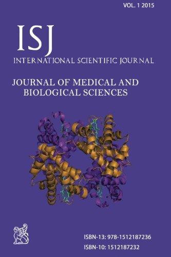 9781512187236: International Scientific Journal JOURNAL OF MEDICAL AND BIOLOGICAL SCIENCES