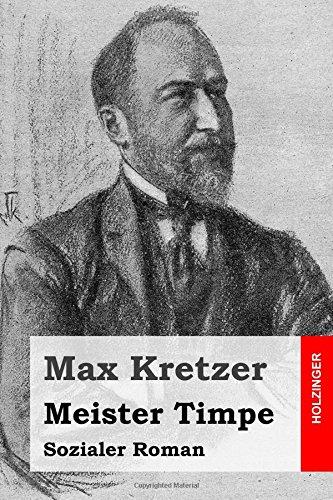 9781512190373: Meister Timpe: Sozialer Roman