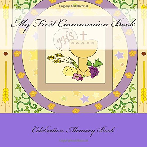 9781512196177: My First Communion Book: Celebration Memory Book