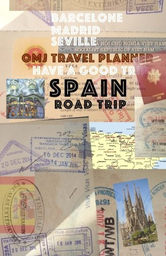 9781512200546: Spain road trip: Spain travel planner