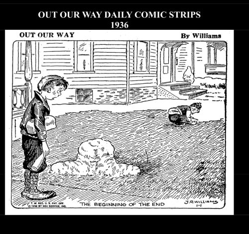 9781512218121: Out Our Way Daily Comic Strips 1936 (B&W): Cartoon Comic Strips 1936