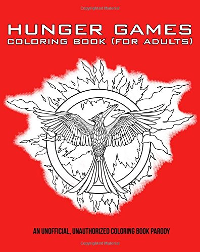 9781512223477: Hunger Games Coloring Book (For Adults)