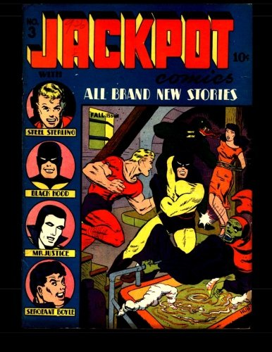 9781512232479: Jackpot Comics #3: Classic Golden Age Comic 1941
