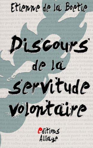 9781512239379: Discours de la servitude volontaire (French Edition)