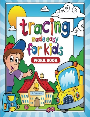 9781512250237: Tracing Made Easy for Kids Workbook (Coloring & Activity Books) (Volume 2)