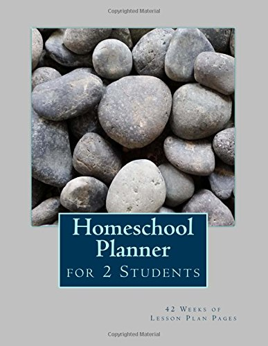 9781512258974: Homeschool Planner for 2 Students: 42 Weeks of Lesson Plan Pages
