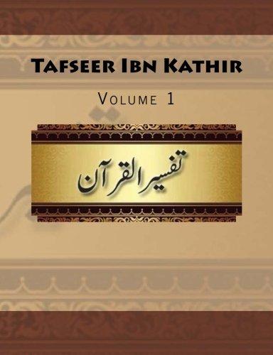 9781512266573: Tafseer Ibn Kathir: Volume 1