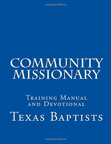 9781512282412: Community Missionary: Training Manual and Devotional