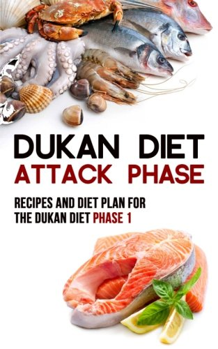 9781512295313: Dukan Diet Attack Phase: Recipes and Diet Plan for the Dukan Diet Phase 1