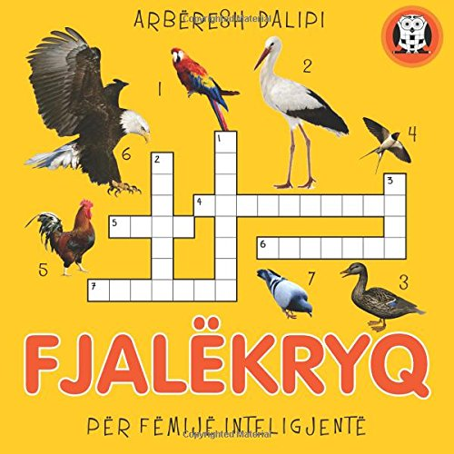 9781512305647: Fjalekryq: Per femije inteligjente (Albanian Edition)