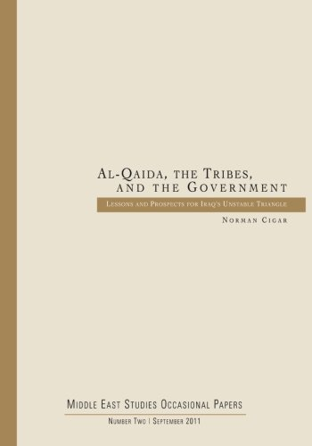9781512307092: Al-Qaida, the Tribes, and the Government: Lessons and Prospects for Iraq's Unstable Triangle (Middle East Studies Occasional Papers)