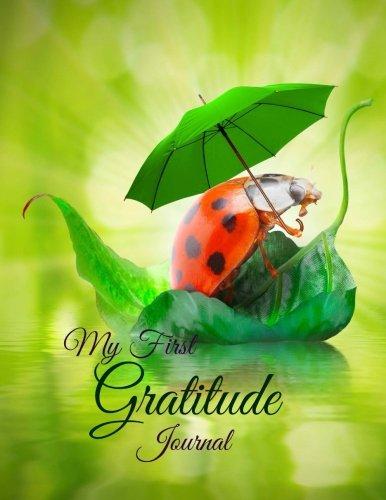 9781512332490: My First Gratitude Journal (Happy Kids-Ladybug on Leaf Boat Cover Design) (Volume 9)