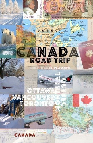 9781512336993: Canada road trip: Canada travel planner