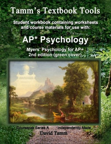 9781512351972: Myers' Psychology for AP* 2nd Edition+ Student Workbook: Relevant daily assignments tailor made for the Myers text (Tamm's Textbook Tools)