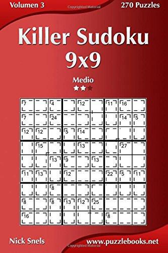9781512353730: Killer Sudoku 9x9 - Medio - Volumen 3 - 270 Puzzles: Volume 3