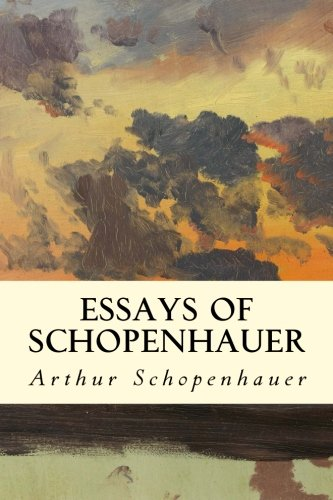 9781512368345: Essays of Schopenhauer