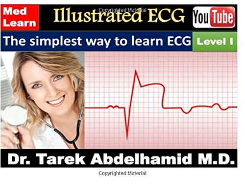 9781512381160: Illustrated ECG - Level I: The simplest way to learn ECG