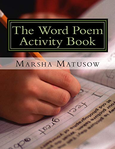 9781512390889: The Word Poem Activity Book