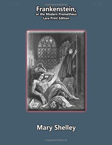 9781512398397: Frankenstein-- Large Print Edition