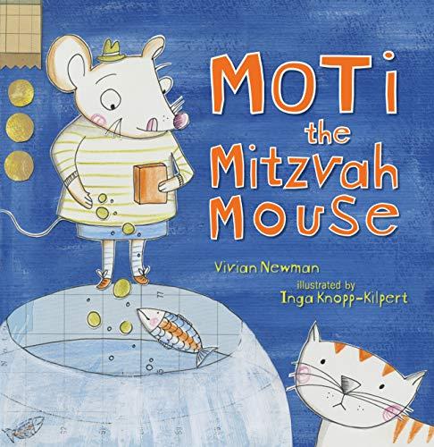 Moti the Mitzvah Mouse (Paperback): Vivian Newman