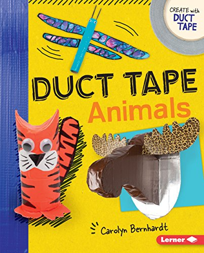 9781512426687: Duct Tape Animals (Create With Duct Tape)