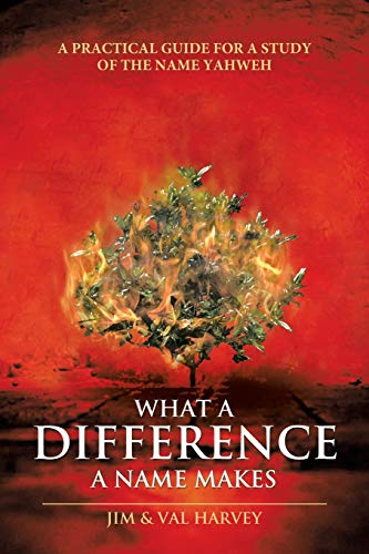 9781512702149: What a Difference a Name Makes: A Practical Guide for a Study of the Name Yahweh