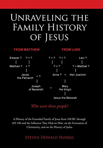 9781512720518: Unraveling the Family History of Jesus: A History of the Extended Family of Jesus from 100 BC through AD 100 and the Influence They Had on Him, on the ... of Christianity, and on the History of Judea