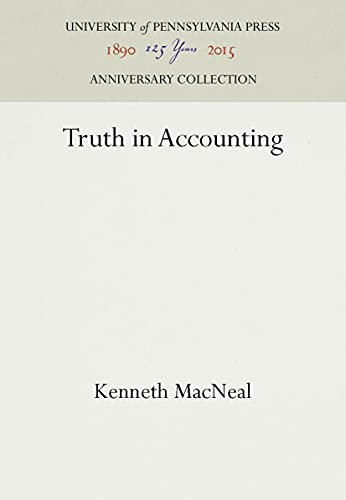 Truth in Accounting: MacNeal, Kenneth