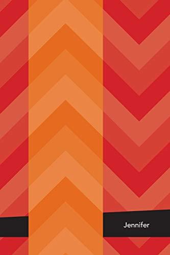 9781513105178: Etchbooks Jennifer, Chevron, College Rule, 6 X 9', 100 Pages