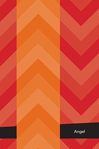Etchbooks Angel, Chevron, College Rule, 6 X 9', 100 Pages: Etchbooks