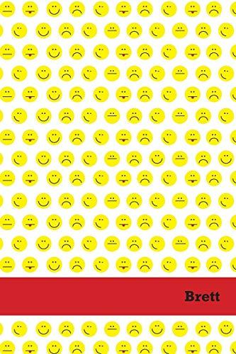 Etchbooks Brett, Emoji, Blank: Etchbooks
