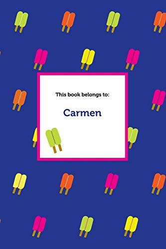 Etchbooks Carmen, Popsicle, College Rule: Etchbooks