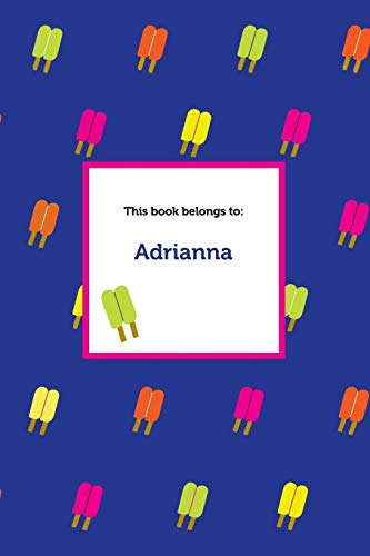 Etchbooks Adrianna, Popsicle, Graph: Etchbooks