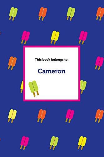 Etchbooks Cameron, Popsicle, Graph: Etchbooks