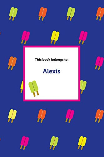 Etchbooks Alexis, Popsicle, Blank, 6 X 9', 100 Pages: Etchbooks
