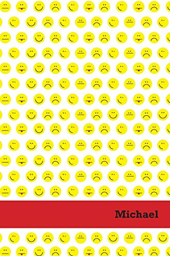 9781513390000: Etchbooks Michael, Emoji, Wide Rule, 6 X 9', 100 Pages