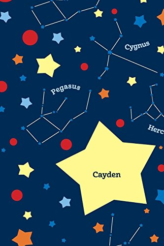 Etchbooks Cayden, Constellation, Wide Rule: Etchbooks