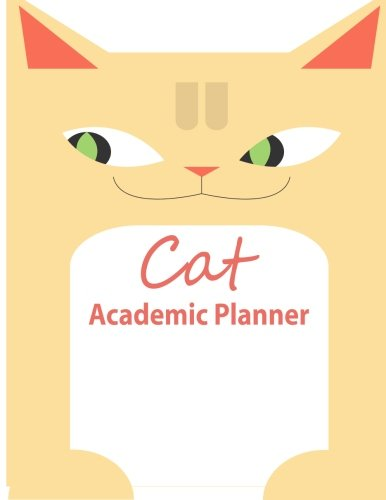 9781514100158: Cat Academic Planner: Start Your Road To Academic Success! (8.5 x 11 inch Journal), 400 pages)