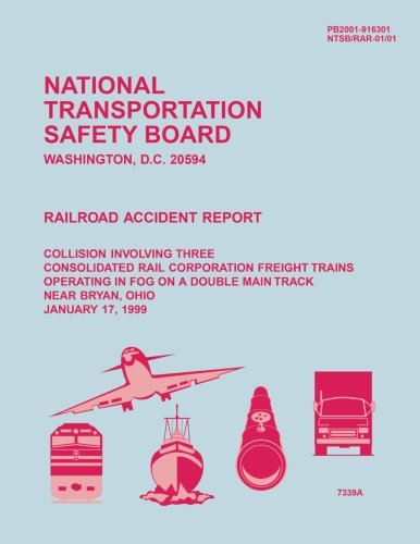 Railroad Accident Report: Collision Involving Three Consolidated: National Transportation Safety